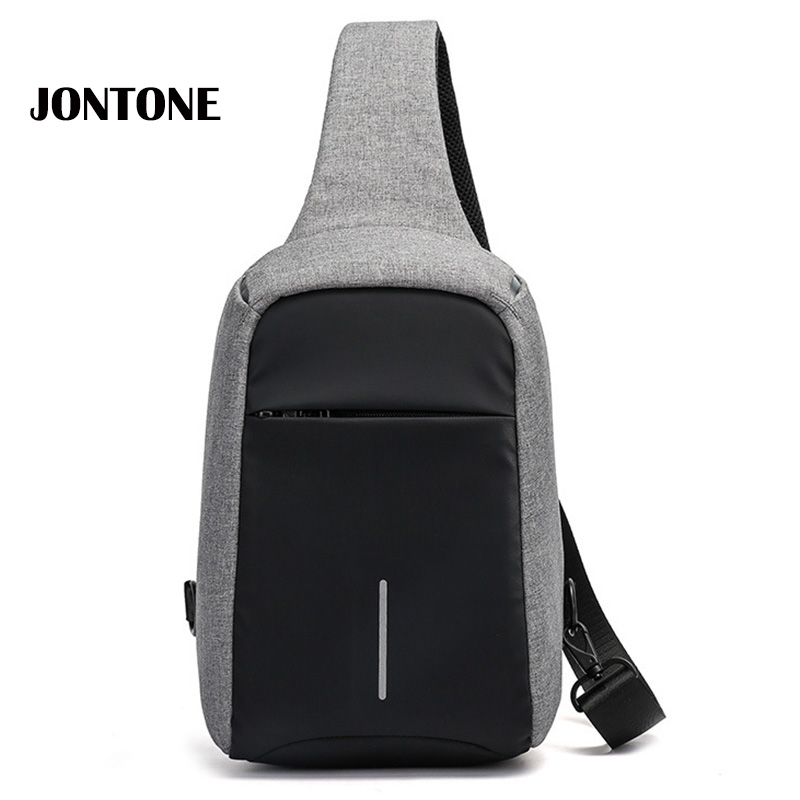 Anti Theft Backpack Men Plecaki Chest Bag Men's Crossbody Bags Small Waterproof Oxford Functional Sling Pack Casual Men Daypack pocket sweatshirt and sequins jogger pants