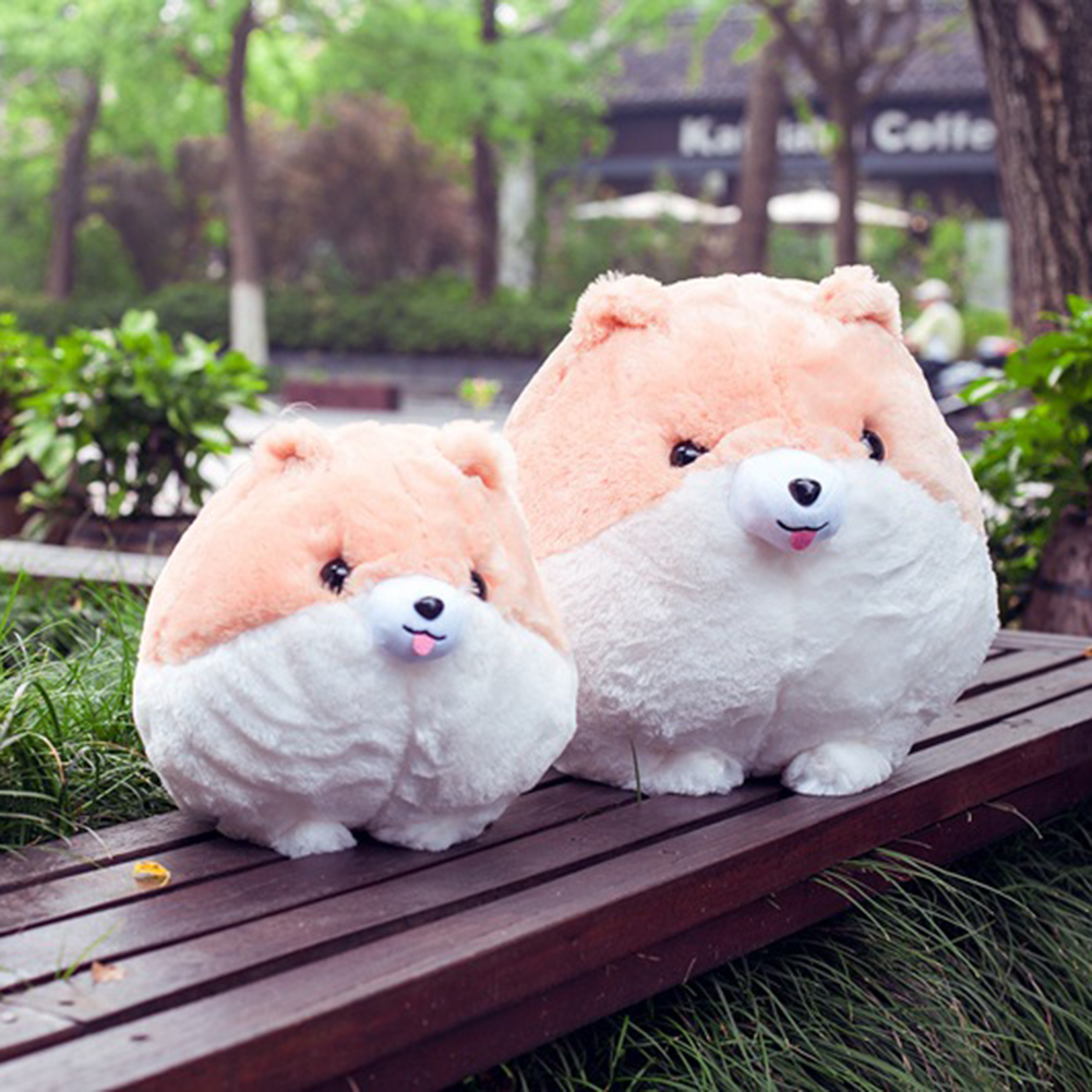Cute Stuffed Doggy Toys Soft Plush Puppy Pillow Doll Toy Gift For Kids Girlfriend LXY9