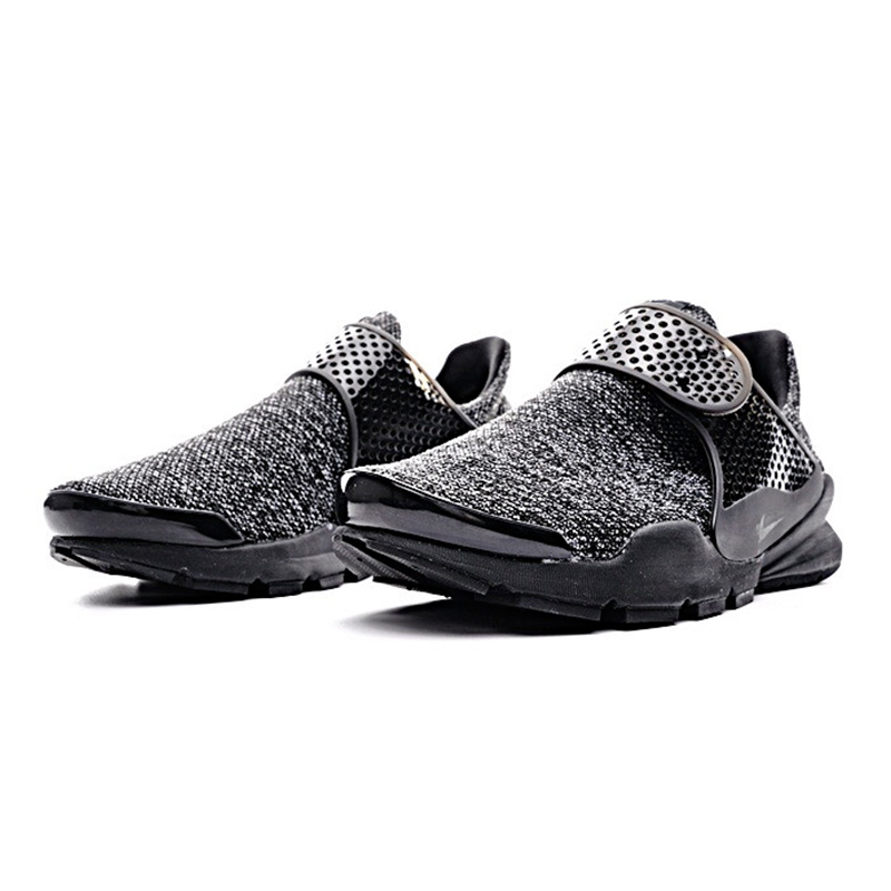 new concept cdeac 55121 Original NIKE SOCK DART BR Men s Running Shoes, Black White, Non slip  Wearable Lightweight Breathable 909551 001 819686 100-in Running Shoes from  Sports ...