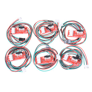 6 Pcs/sets Mechanical Cables Endstop Limit For CNC 3D Printer Ramps End Stop Switch(China)