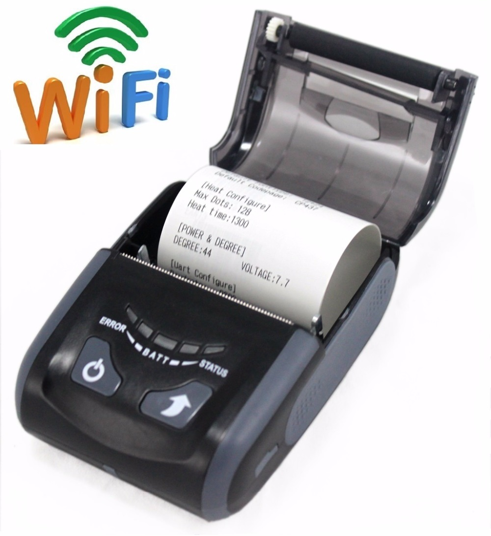 LS200WU Black Color Cheap Price Thermal Printer, Mini Printer, WIFI Printer best price 5pin cable for outdoor printer