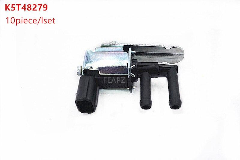 10 pièces/1 ensemble électrovanne automatique soupape à vide K5T48279 K5T48298 Z504-18-741 pour pour MAZDA 6 626 6 RX-8 Miata MX-5 MPV Protege