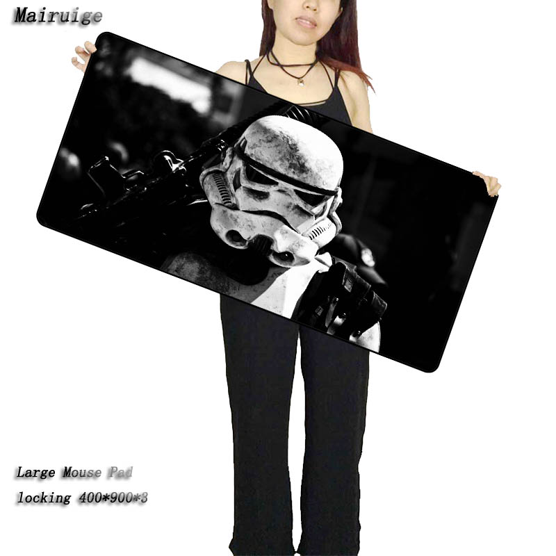 Mairuige Shop Star War Locked Edge Large Mouse Pad To Mouse Notbook Computer Mousepad Fnatic Gaming Padmouse Gamer To CS GO цена и фото