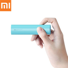 Original Xiaomi ZMI Mini Power Bank Rechargeable 18650 external battery3000mAh Powerbank xiaomi portable charging for phone