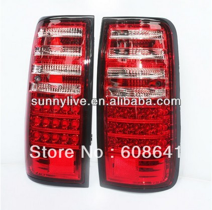 Prado 4500 Land cruiser LC80 FJ80 LED Rear Lamp 1990-97 year Red White Color