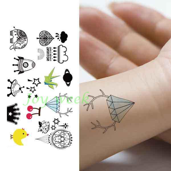 Nintildeos Tatuajes De Dibujos Animados  Compra lotes baratos