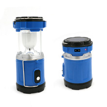 solar led Outdoor Camping font b Tent b font Light Lantern Lamp 2 modes Rechargeable Portable