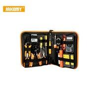 JAKEMY 17 en 1 Électronique Outils de Maintenance Ensemble Numérique Multimètre Outils De Réparation Kit Réseau Réparation Accessoires