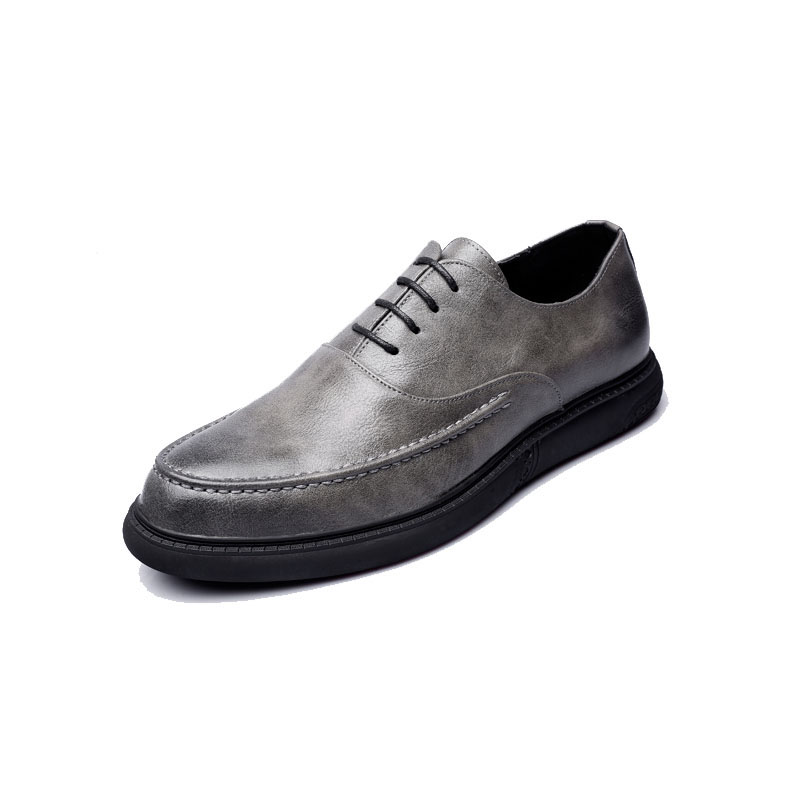 Msw8118186 Dos Verão De Clássico cinza Casamento Homens Sapatos Da Preto brown Marca Designer Elegante Men Luxo Couro AqXOw1