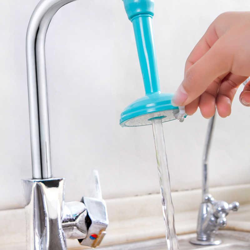 ホット調整可能なロングチューブシャワー台所の蛇口節水シャワー家庭用水道水フィルタースプラッシュヘッド延長