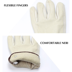 Image 5 - OZERO New Mens Work Gloves Goat Leather Security Protection Safety Cutting Working Repairman  Racing Gloves  5015