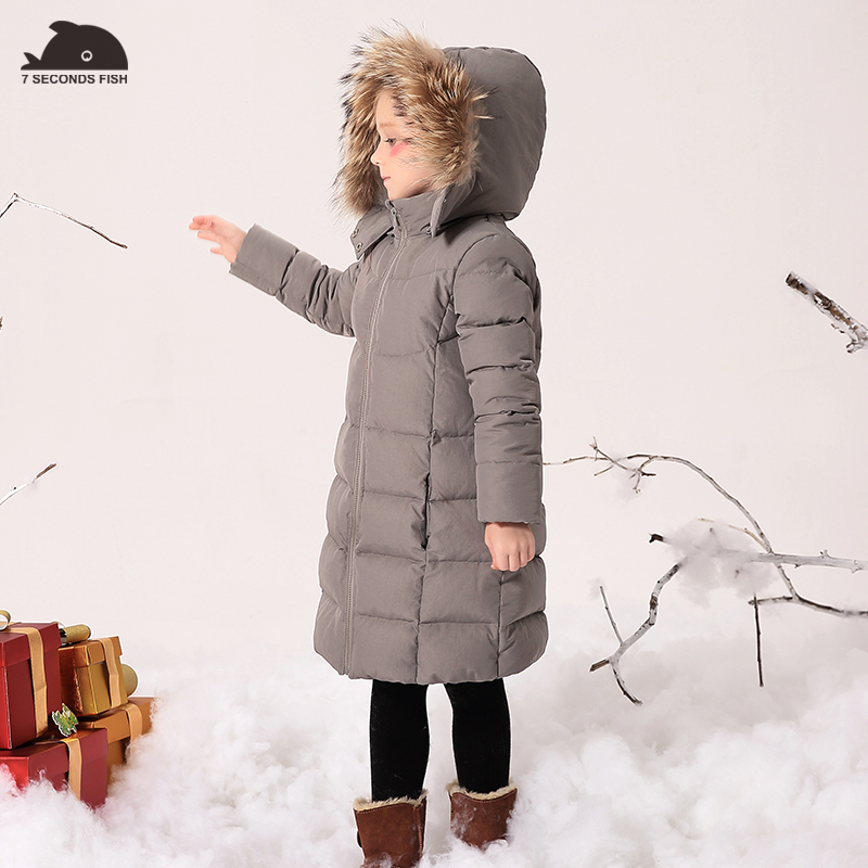 Girls Winter Coats And Jackets Outwear Warm Down Jacket Kids Girls Clothes Children Parkas Baby Girls feather jacket fur hooded girls winter coats and jackets outwear warm long down jacket kids girls clothes children parkas baby girls clothing