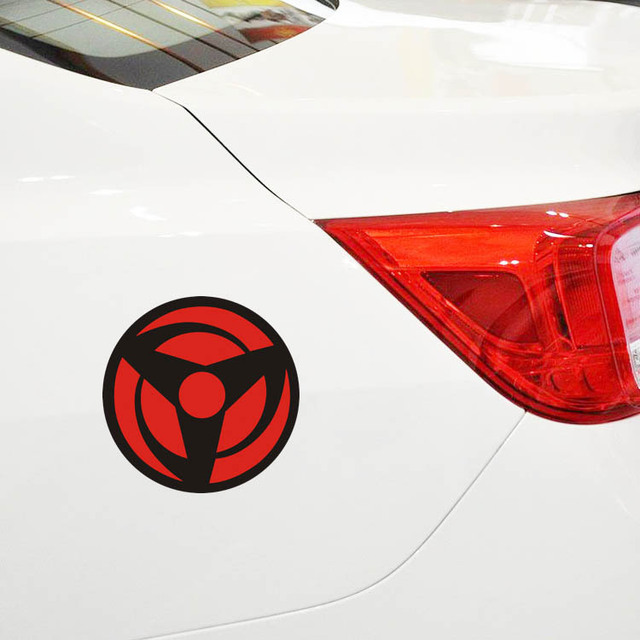 Naruto Uchiha Sharingan Car Sticker