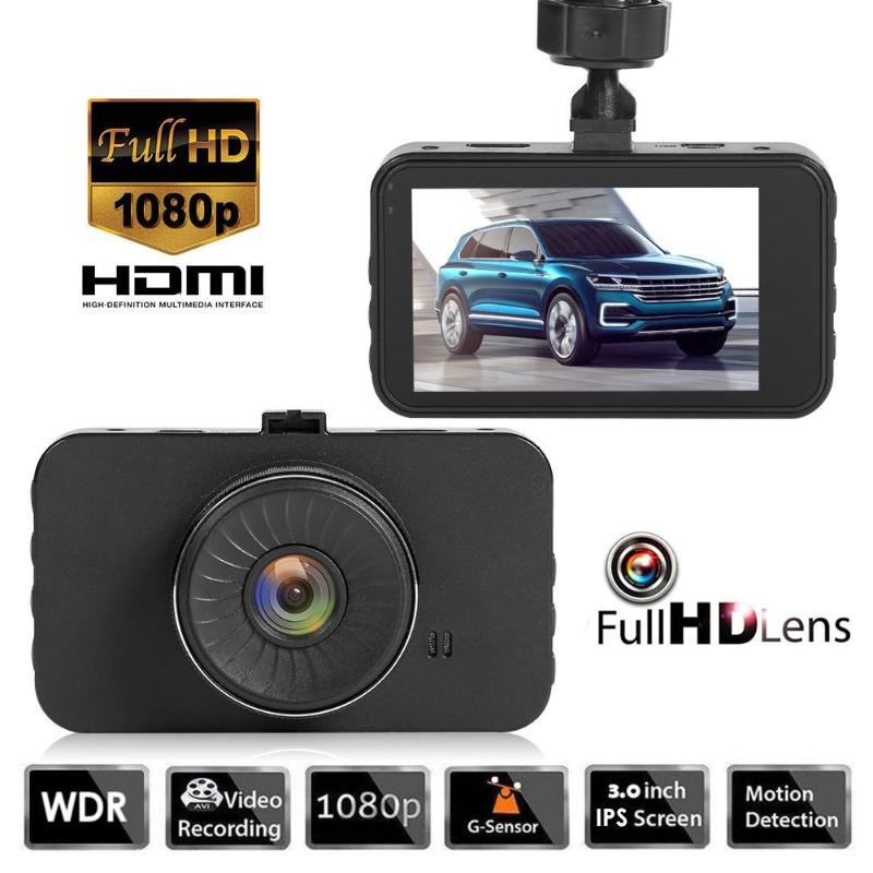 Car DVR SE018 Driving-Recorder Dashboard-Camera 3inch-Screen WDR 1080P HD Zinc-Alloy