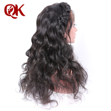 QueenKing hair 250% Density Lace Front human hair Wigs for Black Women Natural Color Body Wave Brazilian Remy Hair