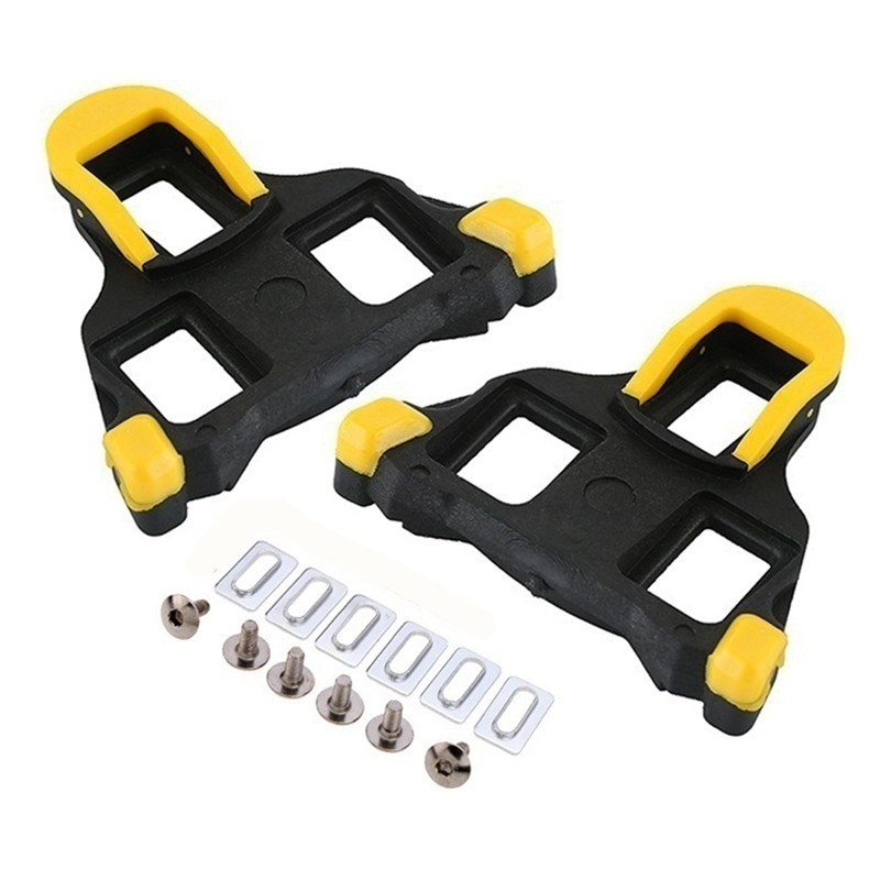 Outdoor Bicycle Accessories Riding Shoes Self-locking Iron Bicycle Foot Support Cleats Locking Plate Splint For Bike Pedal Im