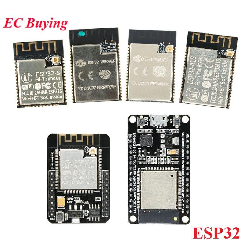 ESP32 Беспроводной модуль ESP-WROOM-32 развитию ESP32-S ESP32-A1S ESP32-WROVER-I ESP32-WROVER ESP32-CAM с OV2640 Камера