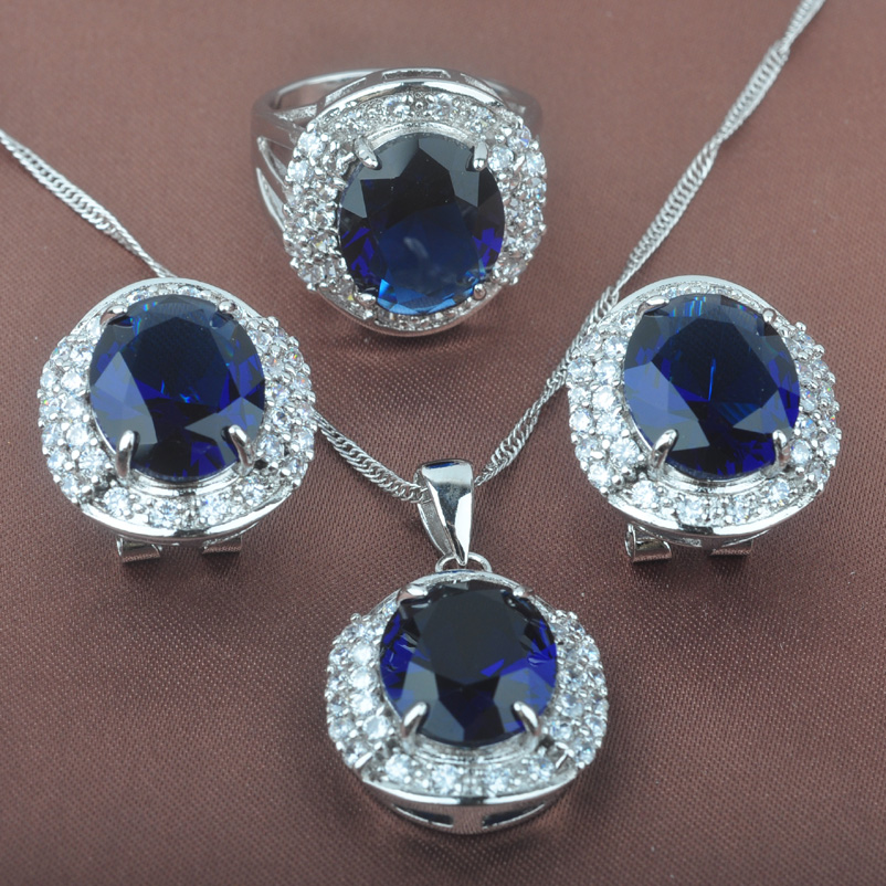 Noble Blue Cubic Zirconia...