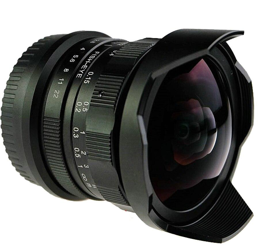 8mm F2.8 Ultra Weitwinkel Fisheye objektiv für Sony NEX E mount A7 ...