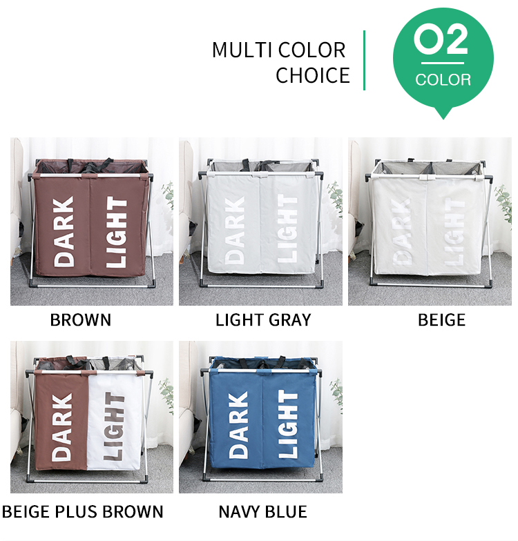 two grid laundry basket  (7)