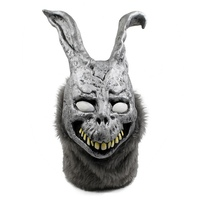 Mask Halloween Party Cosplay Rabbit Haunting Latex Mask Animal Head Full Mask