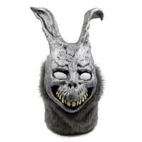 Маска Halloween Party Косплэй кролик призраки латекс маска голова животного полный маска