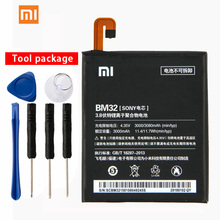 Original Xiaomi BM32 Mi4 Phone battery For Mi 4 3080mAh Mobile Replacement Lithium Polymer Battery
