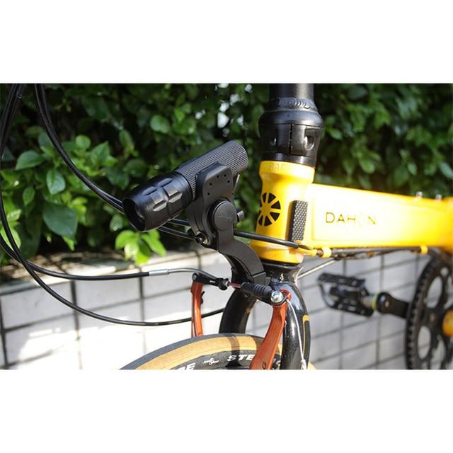 Mtb Bmx Bike Voorlicht Mount Fiets Vork Licht Archmount Extension Base Zaklamp Beugel Extender