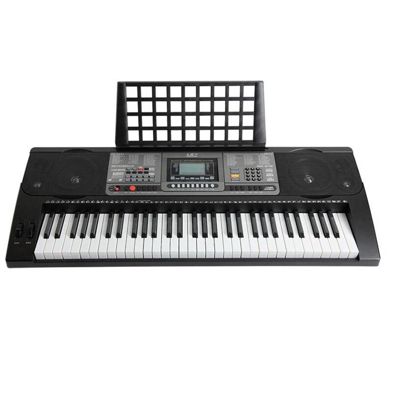 США 816 Smart Connect App клавиатура для взрослых 61 клавиши пианино прочность ключ Дети Начинающий профессиональное обучение фортепиано