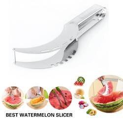 Арбуз резак нож сервер Corer ложка из нержавеющей стали инструмент кухонные аксессуары арбуз нож слайсер