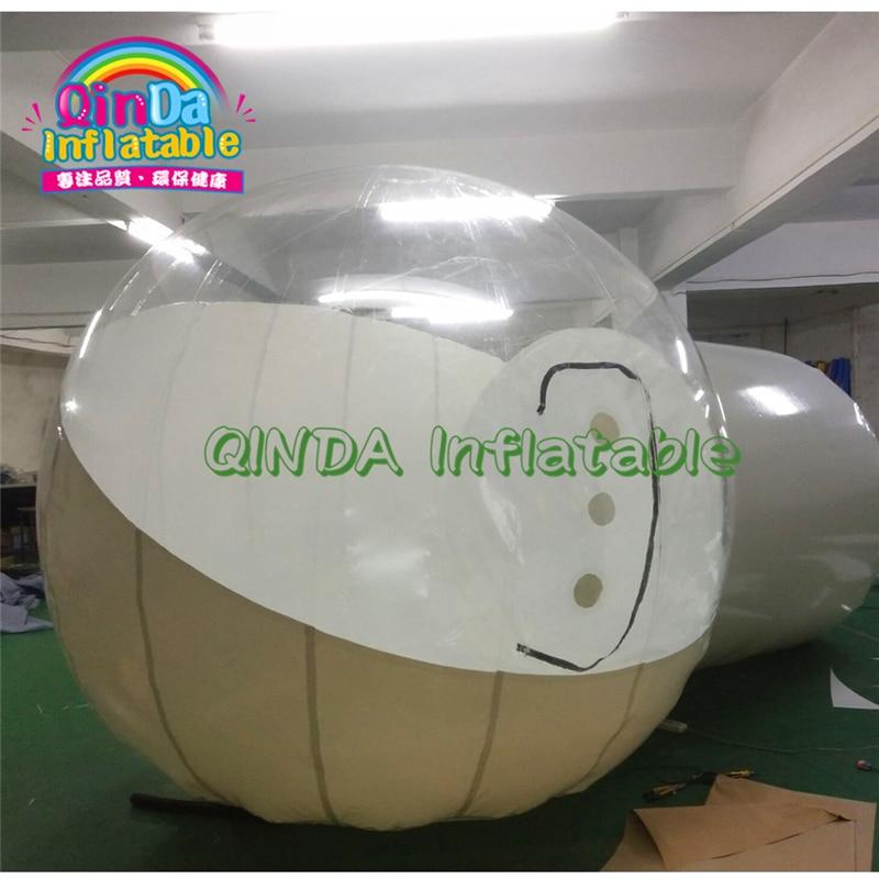 Лодж воздушный шар открытый журнала воздуха домик-избушка кемпинг прозрачный иглу купол ясно круглые надувные палатки
