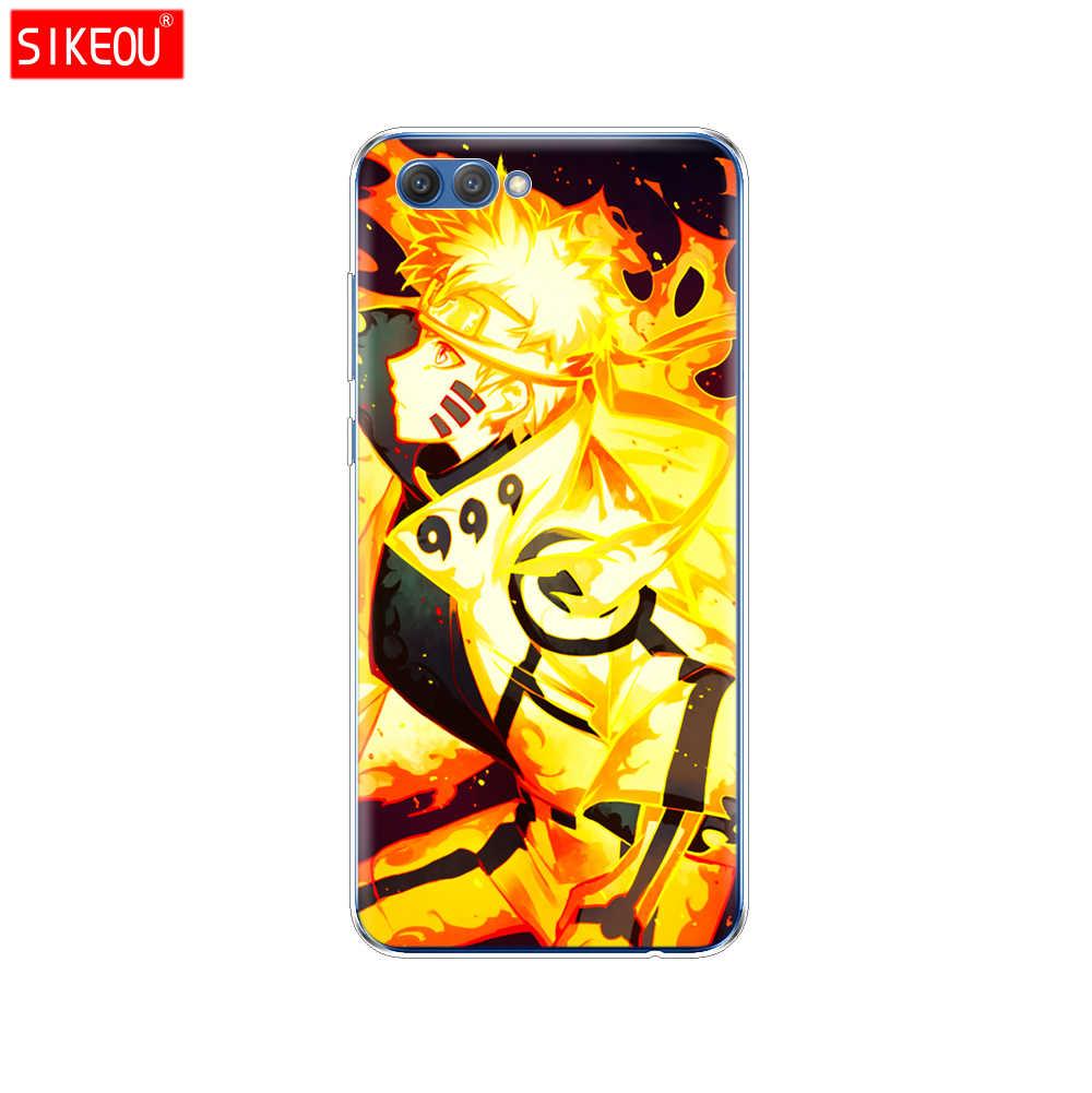 Telefono Della Copertura del Silicone per il Caso di Huawei Honor 10 V10 3c 4C 5c 5x 4A 6A 6C pro 6X 7X 6 7 8 9 LITE Anime Naruto Naruto Minimalista