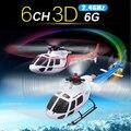 Оригинальный Wltoys WL V931 6CH 6 оси и 3 ось гироскопа бивалентное 3D играть 2.4 г RC пульт дистанционного управления электрический вертолет как бесплатно-as350 весы