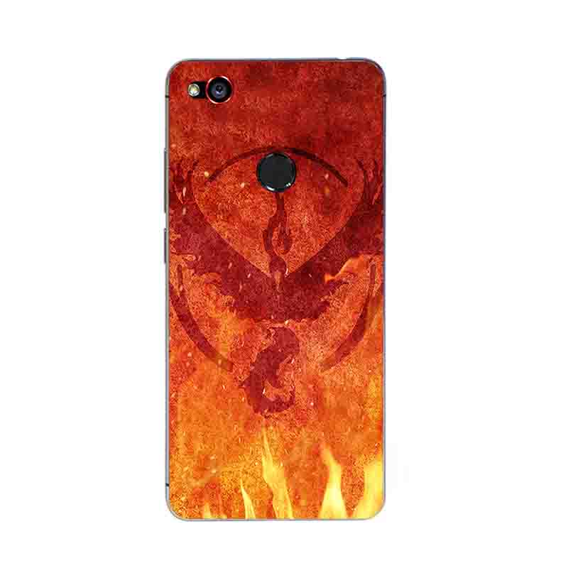 Phone Case For ZTE Nubia Z9 MAX For ZTE Nubia Z11 / Z11 Mini Cover For Nubia Z11 MiniS Shell TPU Gossip Fire Design Painted
