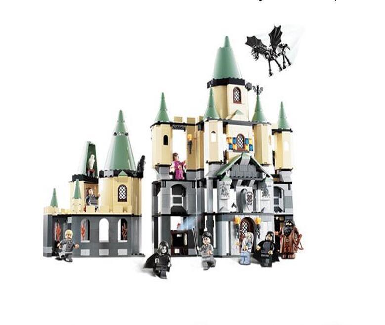 Bricks Magic Hogwort Castle Set LEPIN 16029 Movie Series Children Educational Building Blocks Kids Toys Gift 5378