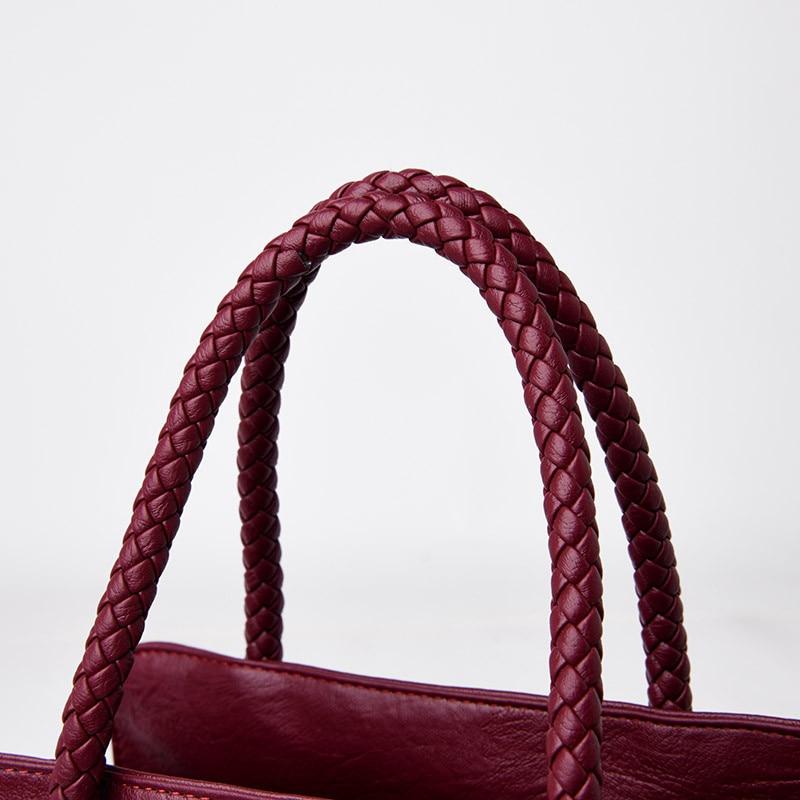 bolsas de couro de alta qualidade luxo