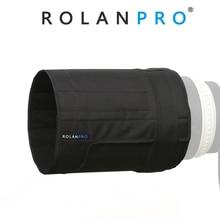 ROLANPRO レンズフードキヤノン 600 ミリメートル f/4 は II III USM 一眼レフ望遠レンズ折りたたみフードライト重量折りたたみ耐摩耗性フード