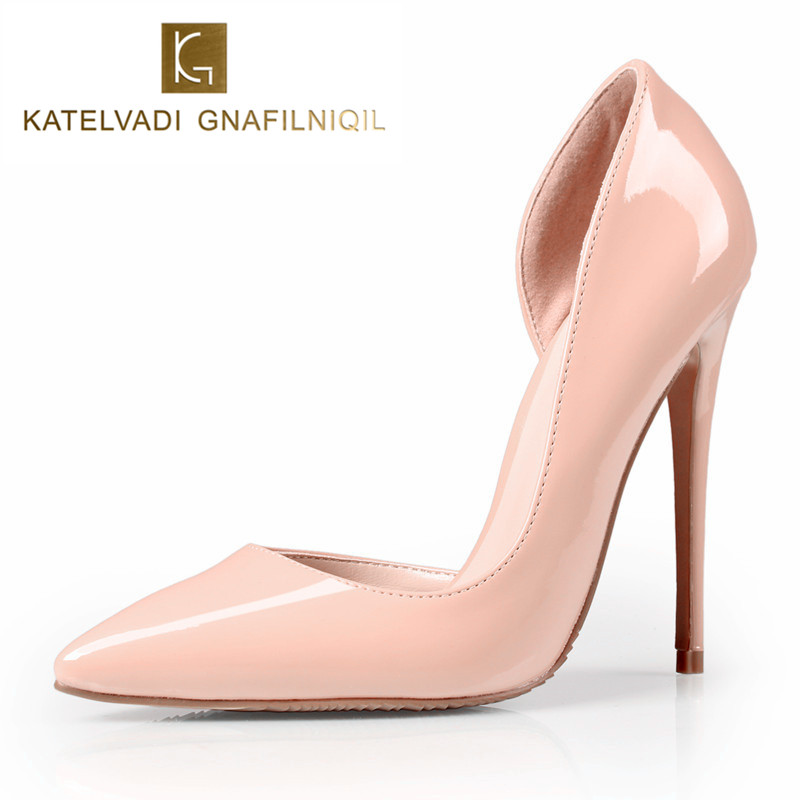 Brand 120 MM Women High Heels Shoes Woman High Heels Nude Shoes PU Leather Sexy Pumps Women Shoes High Heels Bridal Shoes B-0048Brand 120 MM Women High Heels Shoes Woman High Heels Nude Shoes PU Leather Sexy Pumps Women Shoes High Heels Bridal Shoes B-0048