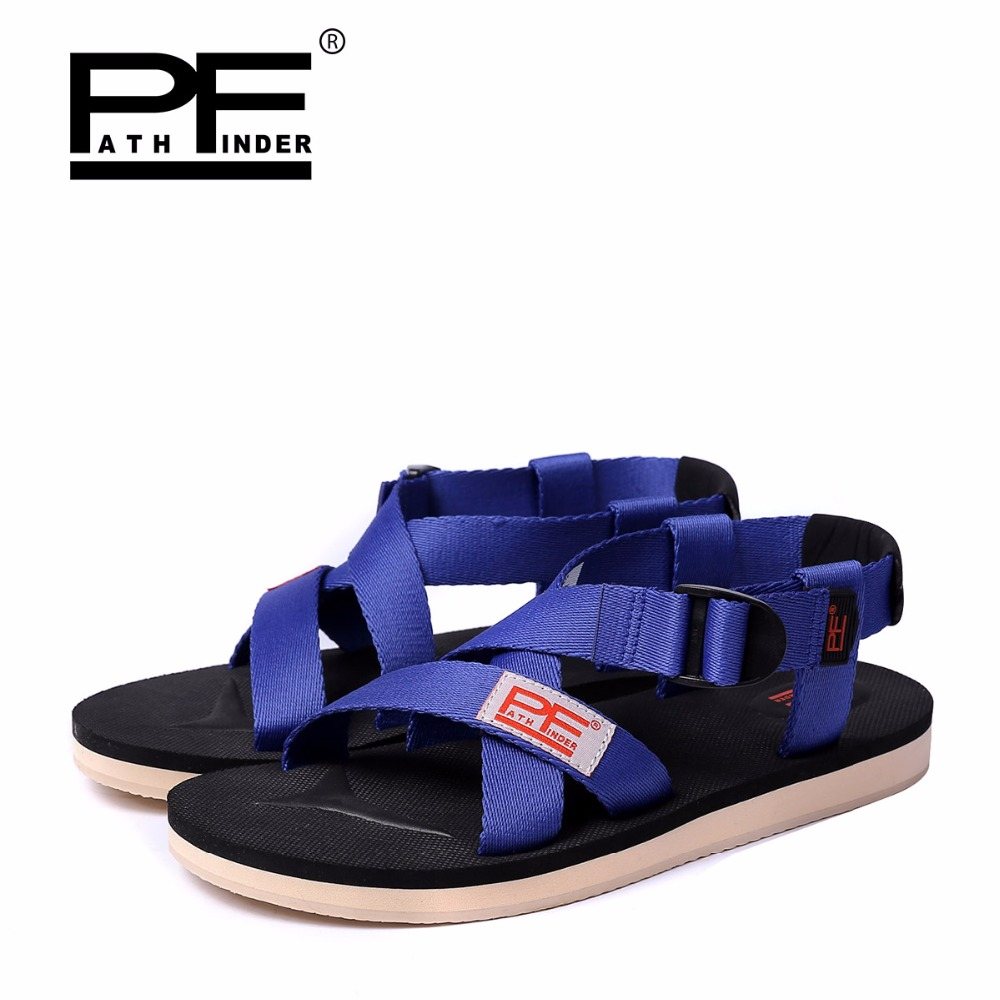 00d42bf01c8248 2016 Men Comfy Outdoor Sandals Slides Rubber Sole Casual Summer Beach  Slippers Shoes High Quality Men Couples Beach Flip Flops -in Women s Sandals  from ...