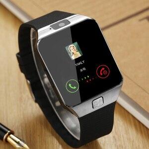 Image 3 - DZ09 Smartwatch นาฬิกาสมาร์ทผู้ชายนาฬิกาสำหรับ Apple iPhone Samsung Android โทรศัพท์มือถือบลูทูธซิมการ์ด TF กล้อง