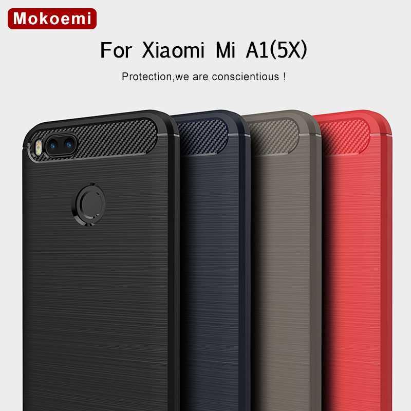 Mokoemi-funda de silicona suave para Xiaomi Mi A1, funda a la moda a prueba de golpes de 5,15 pulgadas para Xiaomi Mi A1 5X