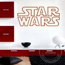 STAR WARS wall vinyl art sticker