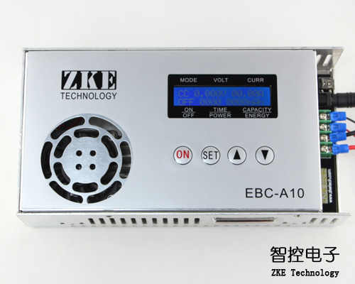 EBC-A10 electronic load, mobile power charging head test, battery capacity tester, cycle charge battery capacity tester resistance testing mobile power lithium lead acid battery can be 18650 serial line 20w