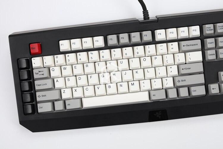 gaming teclado mecânico razer blackwidow final 87 104 [apenas keycaps]