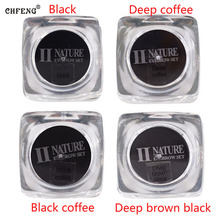 Boermeiz PCD Permanent Makeup Pigments Tattoo ink 1pcs/lot Deep Brown Black Color For Eyebrow Lip make up Microblading enprani delicate defining eyebrow 02 цвет 02 black brown variant hex name 2b2220