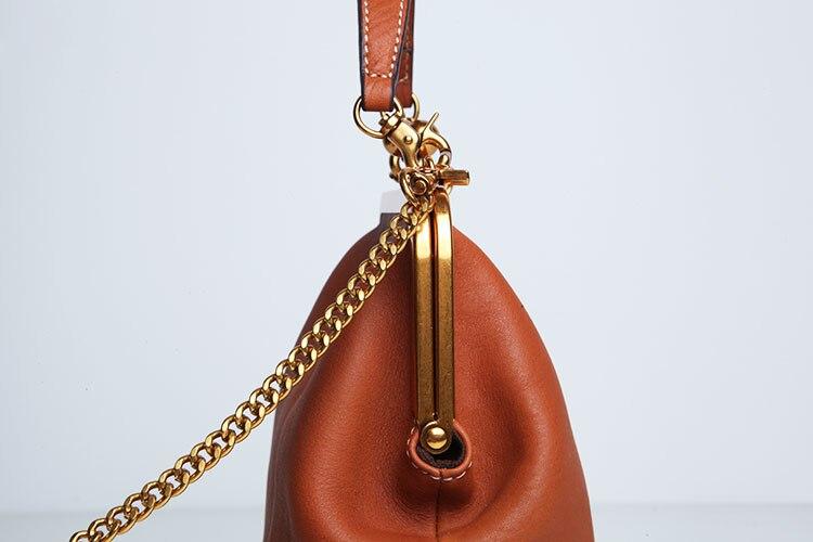 2019 new vintage bag women's handbags leather PU chain shoulder crossbody bags (9)