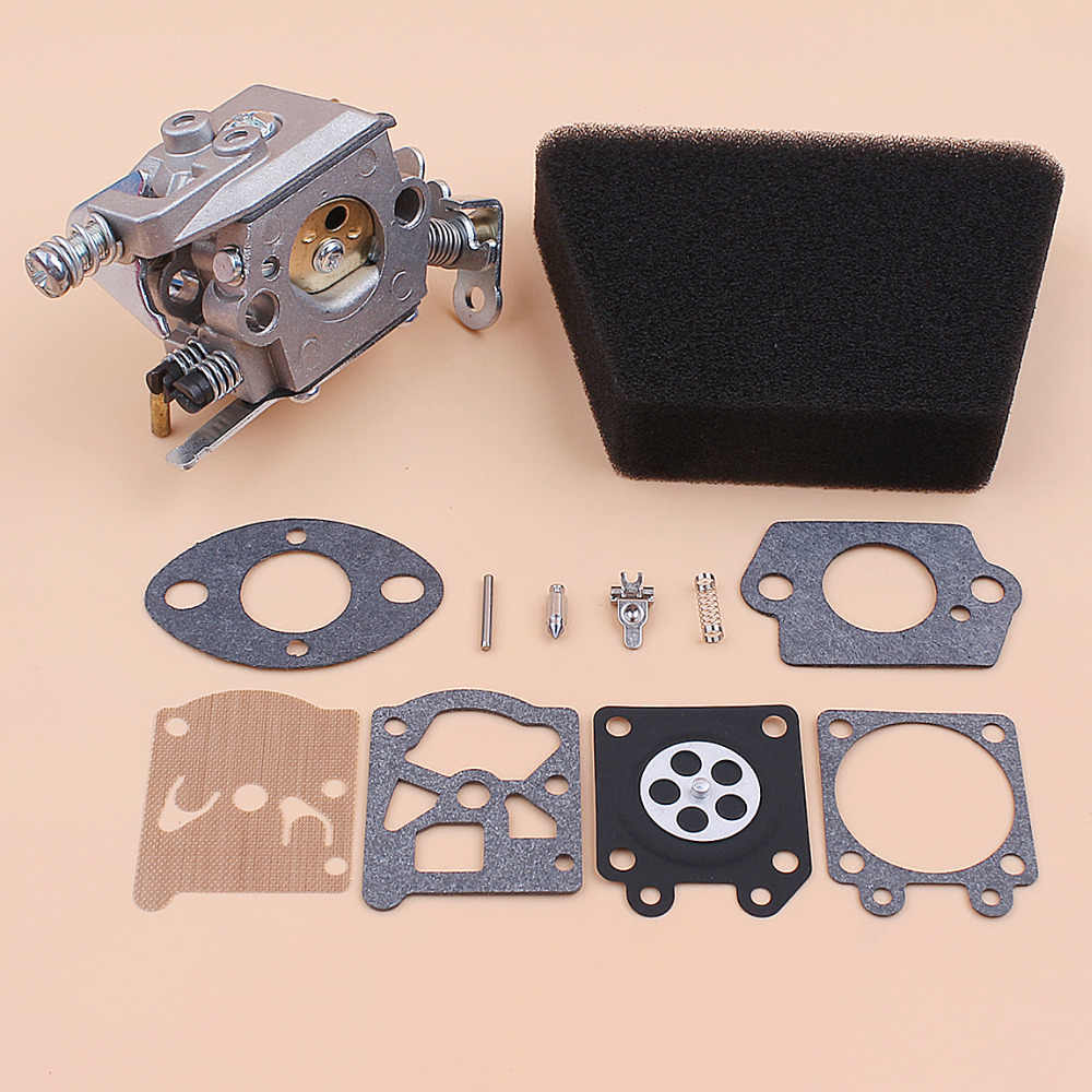 Carburetor Air Filter Gasket Repair Kit For Mcculloch Mac 335 435 440  Partner 350 351 Gas Chainsaw Spare Parts Walbro 33-29 Carb