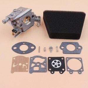 Image 2 - Filtro Aria carburatore Kit di Riparazione della Guarnizione Per Mcculloch Mac 335 435 440 Partner 350 351 Motosega Gas Pezzi di Ricambio Walbro 33 29 Carb