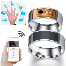Magic Finger NFC Smart Rings Digital For Electronics Android Window Mobile Phone Wearable Stainless Steel Technology Ring