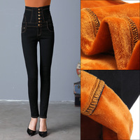 2017 New Winter Thick Women Jeans Plus Size S 6xl Weight 40 80kg Woman Jeans Denim